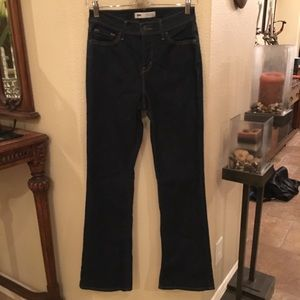 Levi's Perfectly Slimming Bootcut Blue Jeans Sz 27
